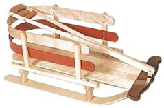 Wooden Baby Sleds