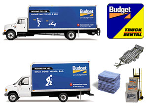 Budget Moving Trucks >> Budget Truck Rental And Moving Supplies Karp S Hardware Store